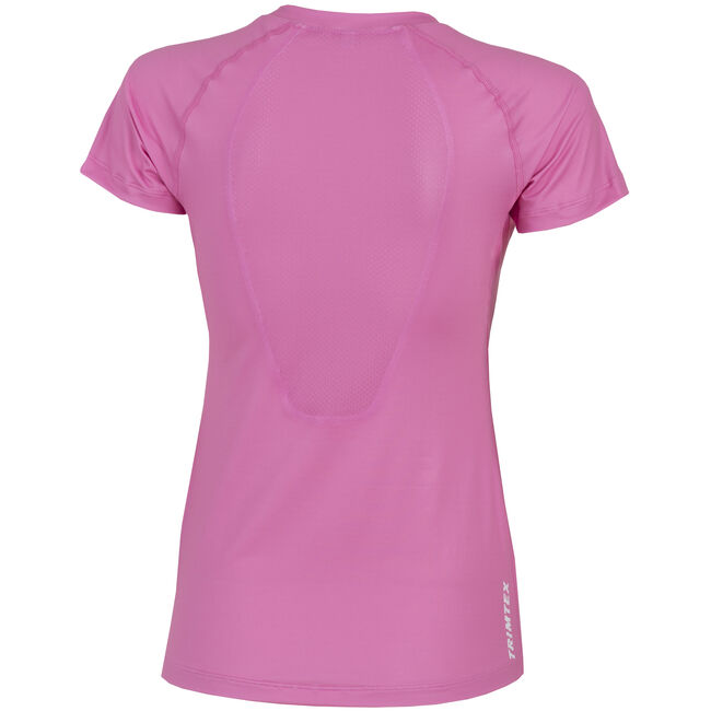 Flow Solid V-Neck T-Shirt Women