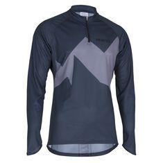 Rapid 2.0 O-Shirt LS Men Steel Blue S
