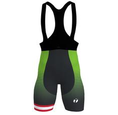 Team cycling bib shorts men's